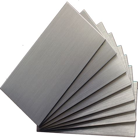 stainless steel tile shop instant mosaic 48 pack brushed stainless metal wall