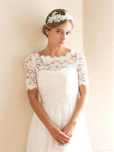 bridal shrug bridal cover up wedding bolero lace topper