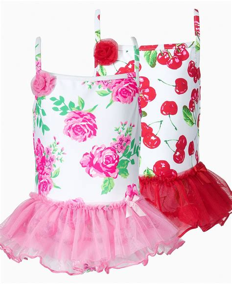 flapdoodles kids swimwear  girl tutu swimsuit