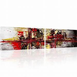 Reproduction Tableau Sur Toile : photo abstrait chaos tableau sur toile reproduction impression artistique ebay ~ Teatrodelosmanantiales.com Idées de Décoration