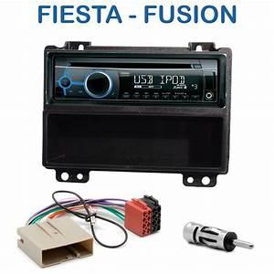 Poste Double Din : autoradio 1 din ford fiesta fusion avec cd usb mp3 ~ Melissatoandfro.com Idées de Décoration