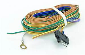 Trailer Light Wiring Harness 5 Flat 35ft To Re