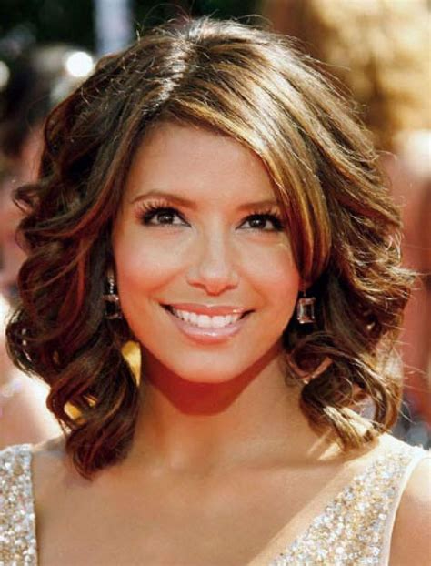 Curling Hairstyles For Medium Hair by Medium Curly Hairstyles With A Curling Iron Which Are Now