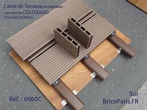 Lame De Terrasse Bambou Composite COLORADO