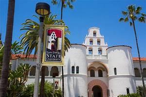 San Diego State University | Hepner Hall on campus at SDSU ...