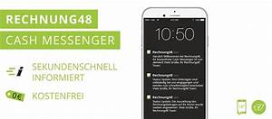 Rechnung 48 : cash messenger bei rechnung48 nachricht da geld drauf ~ Themetempest.com Abrechnung