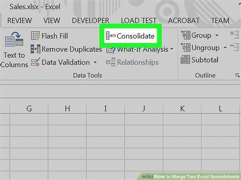 merge data  excel  multiple worksheets