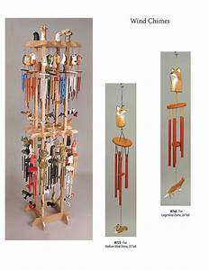 Hand Carved Wind Chimes - Squire Boone Village Products