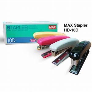 Max Stapler Hd 10 D
