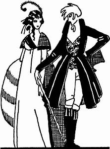 Man and Woman Standing   ClipArt ETC