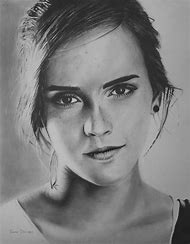 Drawing Portrait Emma Watson