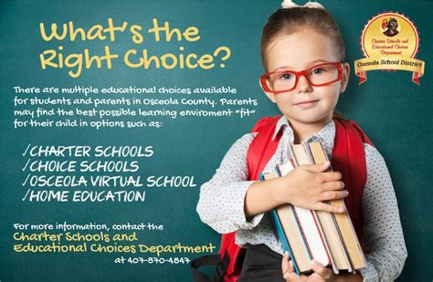 charter schools educational choices school district osceola county