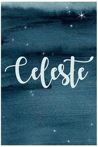 Celeste Names Celestial Star Greek Meaning Livingly