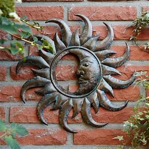 Metall Sonne Für Hauswand : wandbild schillernder mond von g rtner p tschke ~ Whattoseeinmadrid.com Haus und Dekorationen