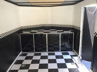 Race Trailer Cabinets by V Nose Trailer Cabinets Kits Midwest Race Cabinets