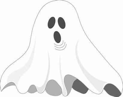 Ghost Clip Clker Clipart Vector Royalty Domain