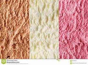 Neapolitan Ice Cream Background Stock Photo - Image: 93298934