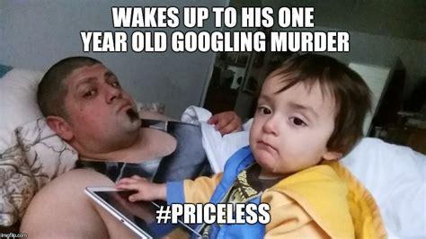 Gangster Baby Meme - baby googles murder imgflip