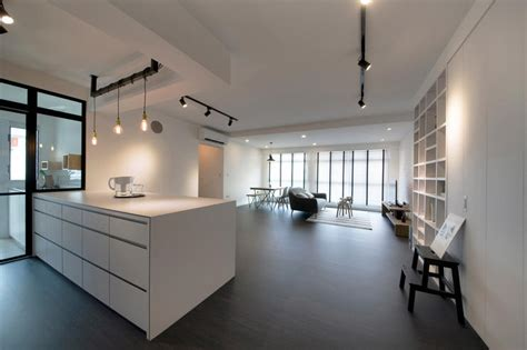 Home Design Ideas For Hdb Flats by 13 Stylish Open Concept Hdb Flat Homes Home Decor
