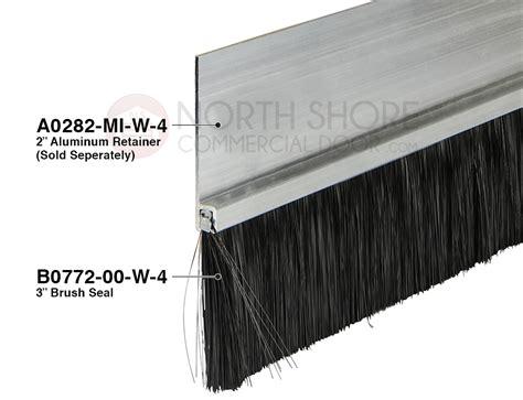 Standard Garage Door Brush Seal Measuring One To Three