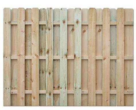 6' H X 8' W Shadow Box Ac2 Treated Fence Panel At Menards®