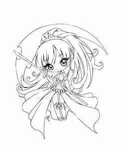 Anime Chibi Warrior Coloring Pages