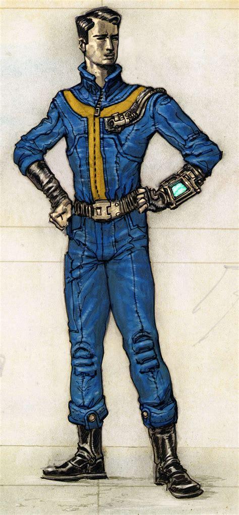 fallout 3 jumpsuit image vault jumpsuit ca2 jpg fallout wiki fandom