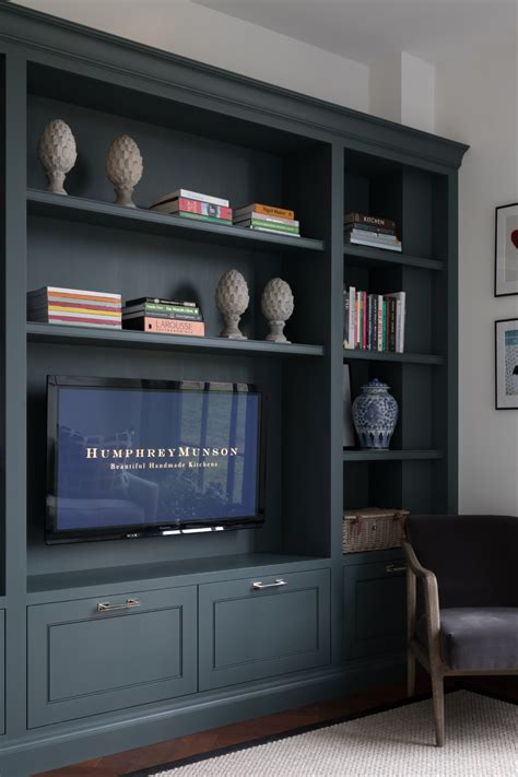 Design Studio Sitting room TV cabinetry Felsted