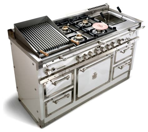 officine gullo grand villa og148 contemporary gas ranges and electric ranges other metro