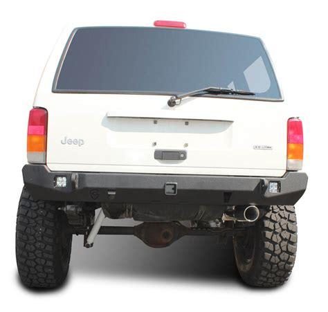 jeep cherokee rear bumper jeep xj rear bumper crusader jeep cherokee 84 01