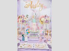 Kara's Party Ideas Sparkly Baby Unicorn Birthday Party