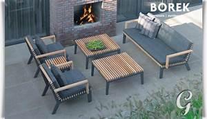 Loungemöbel Holz Outdoor : loungem bel outdoor wetterfest ~ Indierocktalk.com Haus und Dekorationen