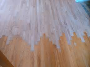 floor sand and stain