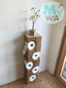 Wc Rollenhalter Stehend : porta papel higi nico r stico my way decora ~ Frokenaadalensverden.com Haus und Dekorationen