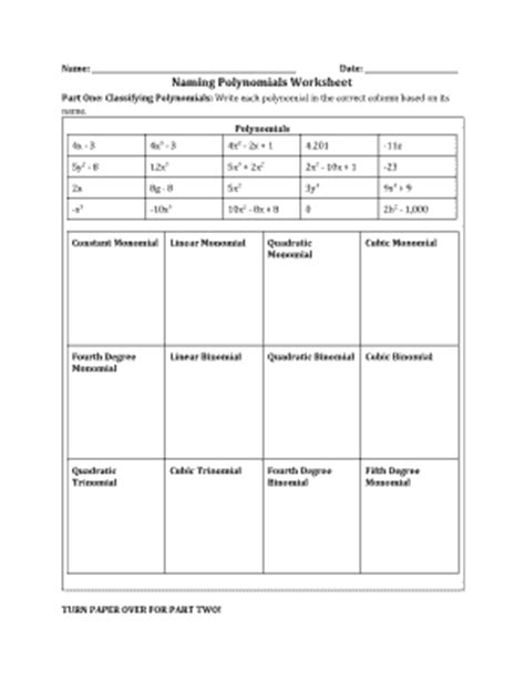 naming polynomials worksheet resultinfos