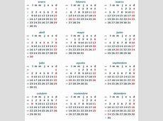 Descargar calendario 2012 Argentina