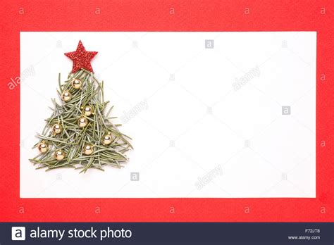 blank christmas card  invitation  christmas tree