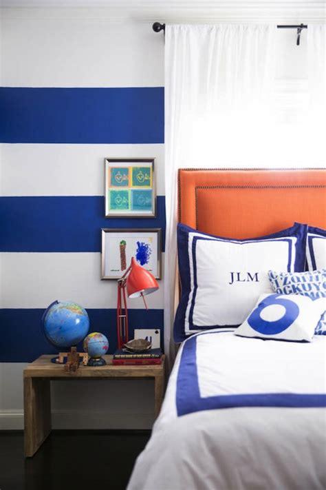 boys room blue orange and blue boy s room contemporary boy s room amie corley interiors