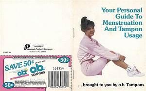 O B  Tampon Booklet  1988  At Mum