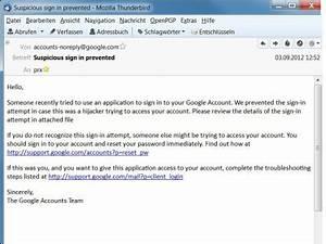 Angebliche google e mail verbreitet trojaner com for Hotelreservierung auf englisch