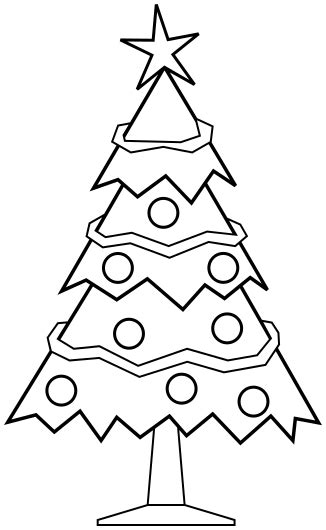 christmas picture outline tree outline trees bw trees christmas tree outline png html