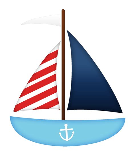 Nautical Boat Pictures by Sail Boat Nautical Clipart Sail Boats