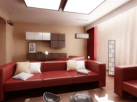 red sofa living room decor brown and red living room ideas