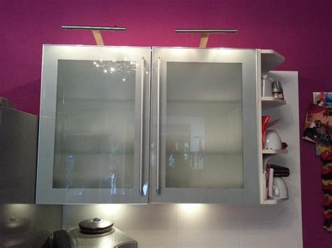 Nobilia Glas Hängeschrank / Küche Möbel In Neulußheim