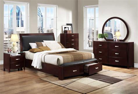 Espresso King Bedroom Set by Homelegance Lyric Platform Bedroom Set Espresso