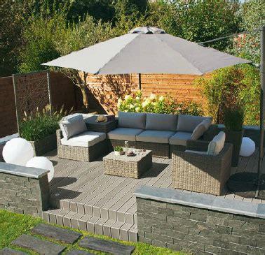 fabriquer canapé d angle salons de jardin pas chers pour se relaxer cet été déco cool