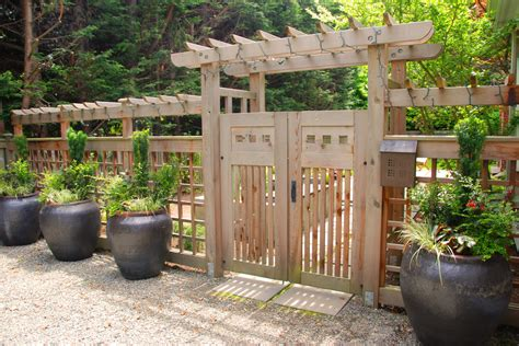 ideas for garden gate landscaping front yard