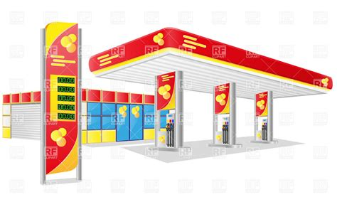 Station Clipart Gas Stations Clipart Clipground
