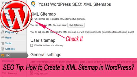 Seo Tip How Create Xml Sitemap