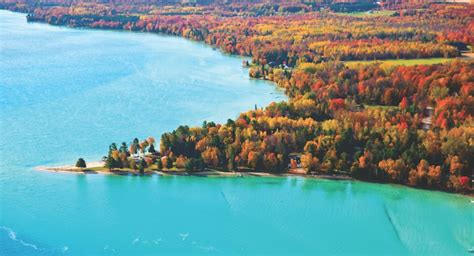 It is located at the entry from lake superior to the portage canal. Traverse City Legends and Myths | Traverse City, MI